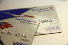 Bank of America Visa Debit Cards
