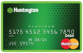 Huntington Bank MasterCard Image