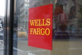 Wells Fargo Door Sign
