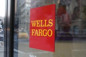 Wells Fargo Door Sign