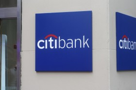 Citibank Column Signs
