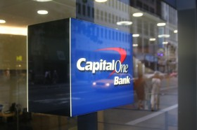 Capital One Bank Branch Logo NYC