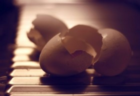 broken eggshells fragile economy