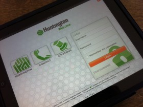 Huntington Bank Unveils iPad App