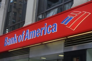 Bank of America Branch Sign