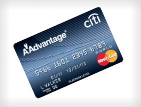 Citi Platinum Select AAdvantage World MasterCard