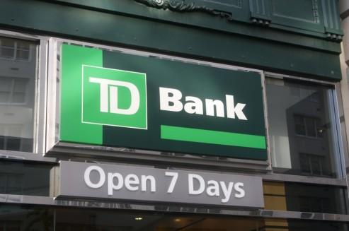 td bank check cashing fee image