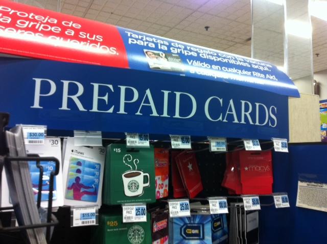prepaid card savings account