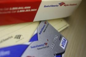 Bank of America Debit Card & Checkbook