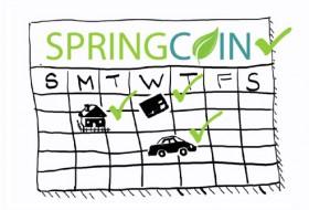 SpringCoin Calendar