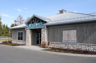 Visions FCU's branch in Norwich, N.Y.