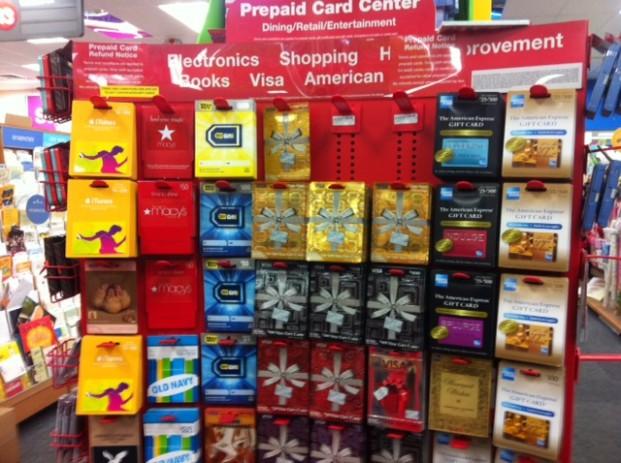 Prepaid cards at CVS