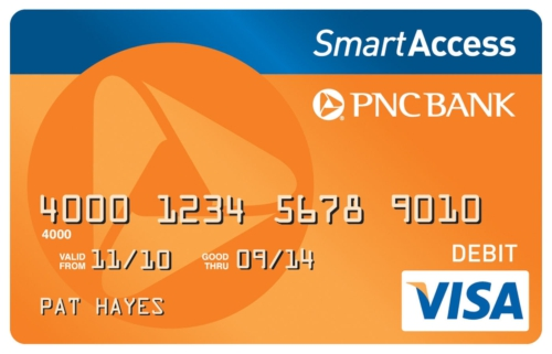 pnc smartaccess card image