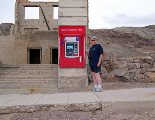 Bank of America Cuts its ATM Network Down to Size