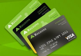Regions Bank Launches New Line of Credit Cards