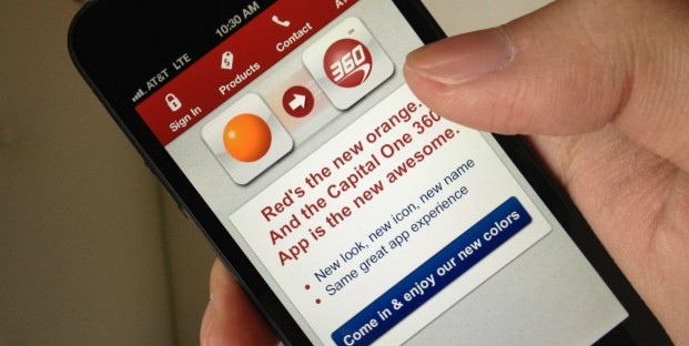 Capital One 360 shut down the ING Direct mobile app as it began moving customers into its new system.