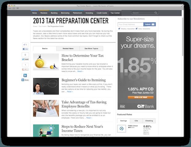 tax center