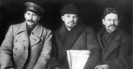 Joseph Stalin, Vladimir Lenin and Mikhail Kalinin Wikimedia Commons | http://commons.wikimedia.org/wiki/File:Stalin-Lenin-Kalinin-1919.jpg