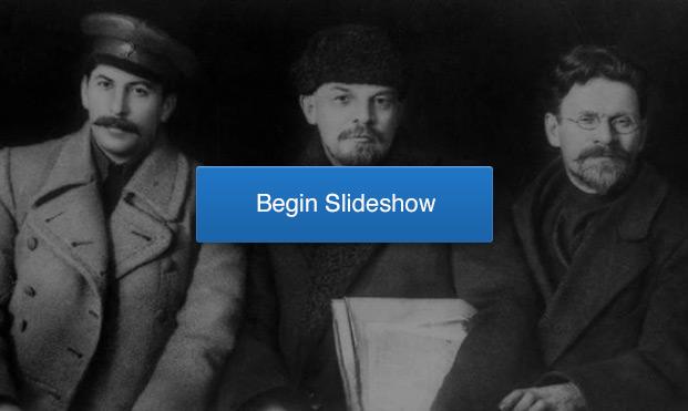 Joseph Stalin, Vladimir Lenin and Mikhail KalininWikimedia Commons | http://commons.wikimedia.org/wiki/File:Stalin-Lenin-Kalinin-1919.jpg