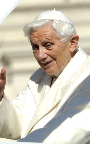 Pope Benedict XVI Holds His Final General Audience