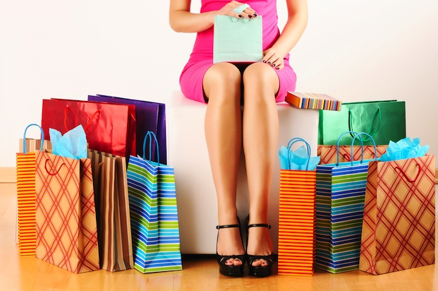 Shutterstock | http://www.shutterstock.com/pic-73095244/stock-photo-woman-s-legs-and-shopping-bags.html