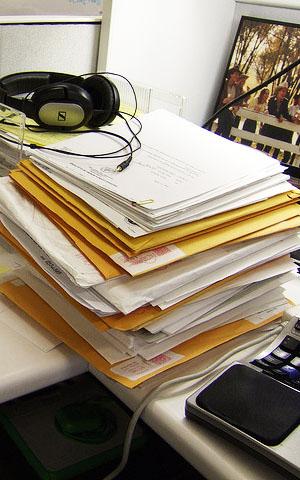 organize pile