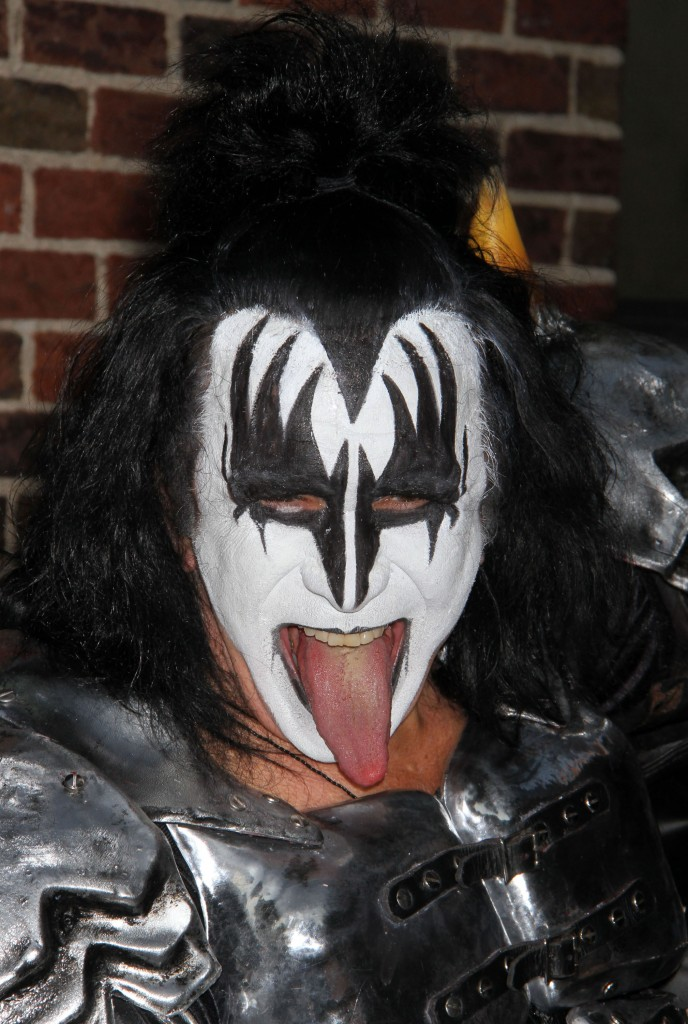 Kiss Stop By 'The Late Show With David Letterman'
