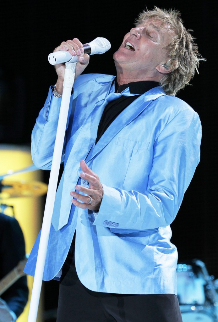 Rod Stewart Performing In Newbury (USA ONLY)