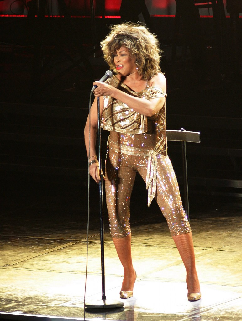 Tina Turner Performs In Dublin (USA AND OZ ONLY)