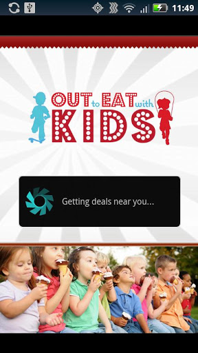 out to eat with kids