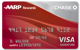 Chase AARP VISA Signature Credit Card