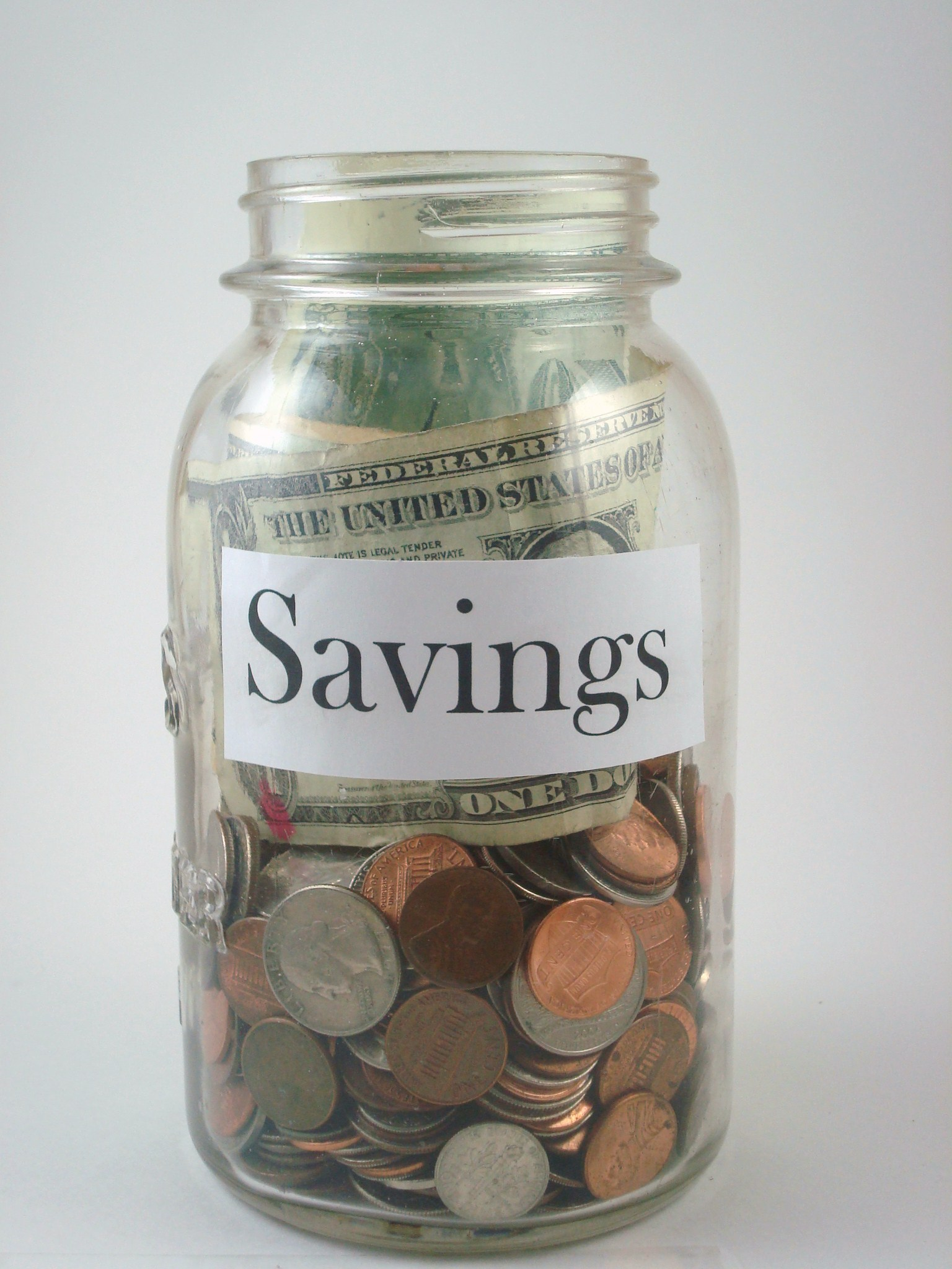 8 clear cut ways to becoming a better saver mybanktracker for Cool money jars