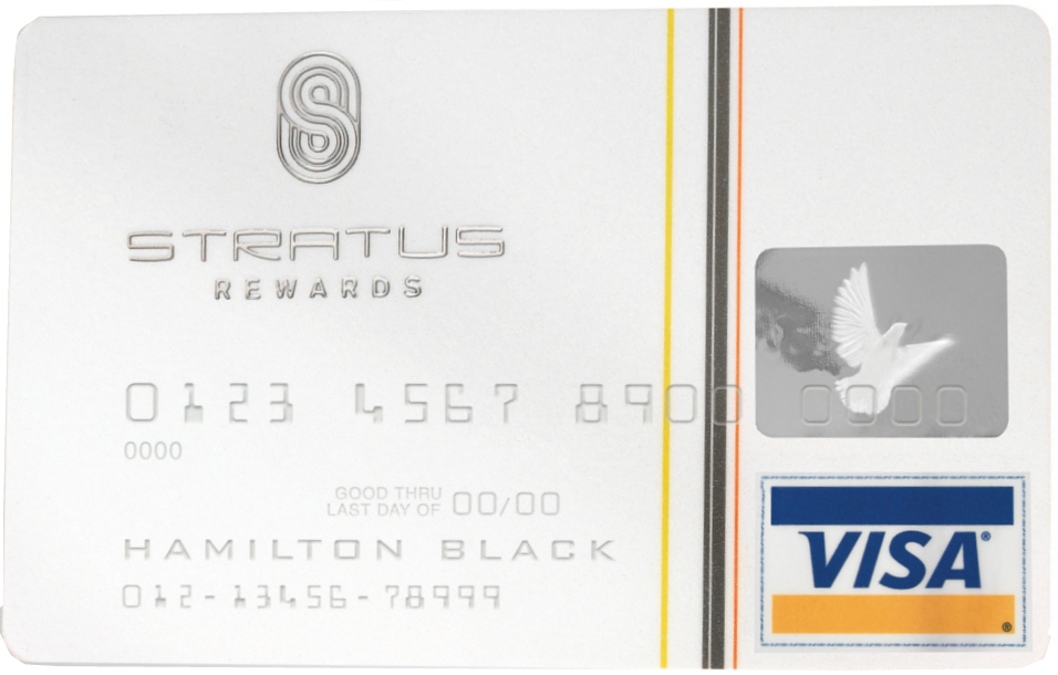 stratus rewards visa card