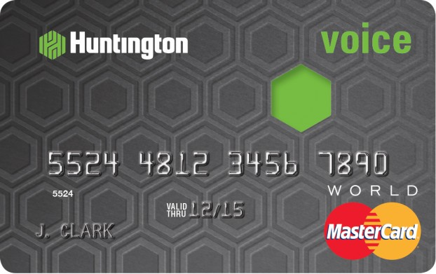 huntington rewards card image