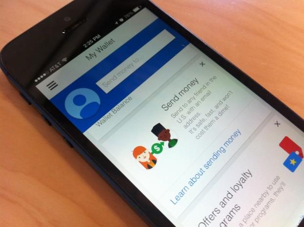 Google Wallet on iPhone