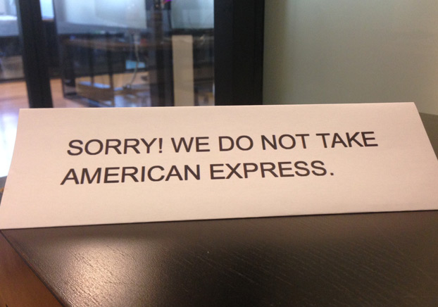 Who Accepts American Express >> Why Some Merchants Don T Accept American Express