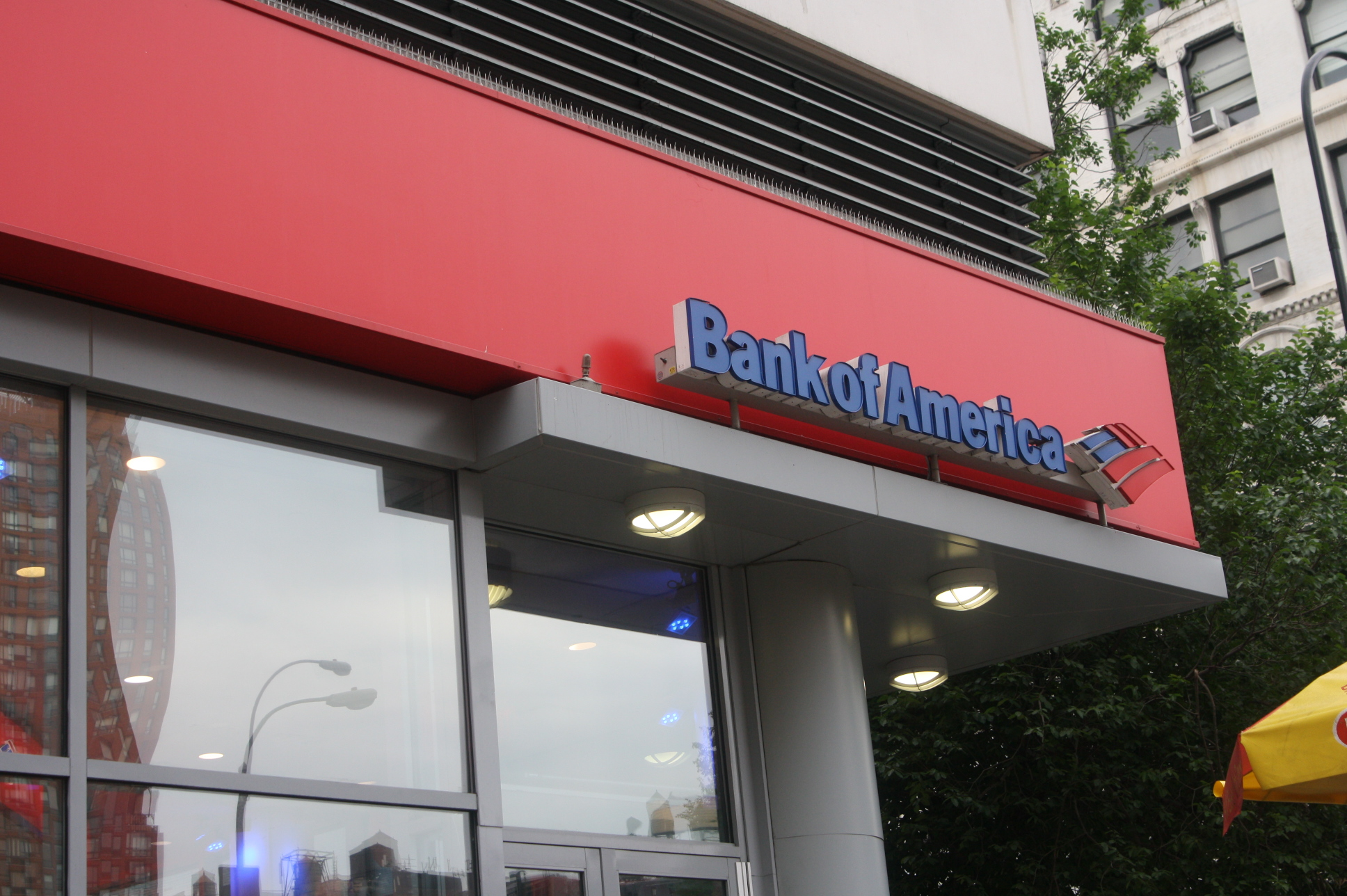Bank of America branch in union square