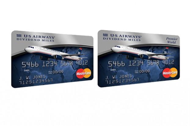 US Airways Dividend Miles Credit Cards