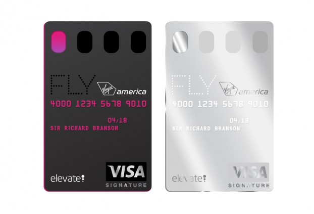 Virgin America Visa Signature Credit Cards