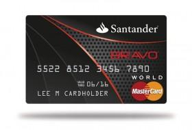 SANTANDER BANK, N.A. BRAVO MASTERCARD