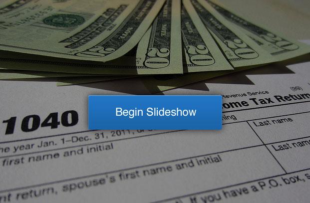 Unusual Tax writeoffs