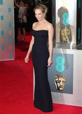 Celebrities Attend The BAFTA Awards In London
