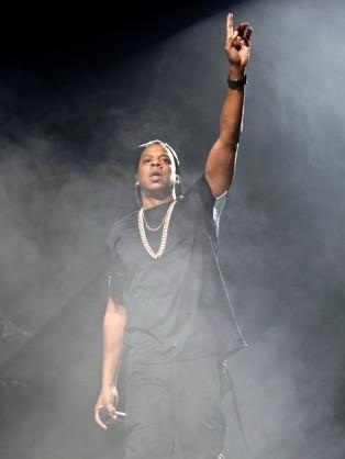 Jay Z Performs in Paris