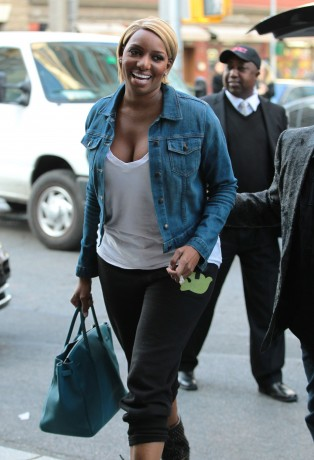 Nene Leakes Arrives At Her NYC Hotel