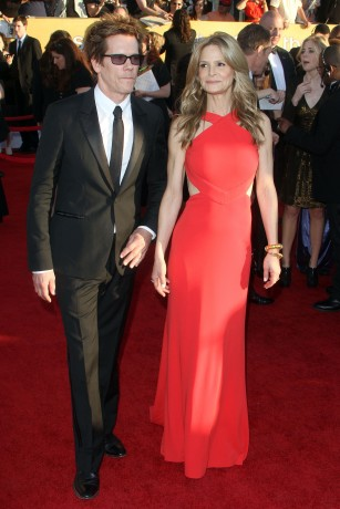 George Clooney and Stacy Keibler at The The 18th Annual Screen Actors Guild Awards