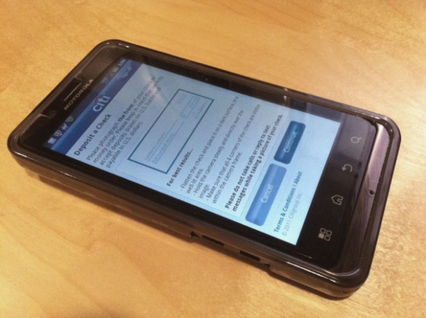 mobile check deposit limits image