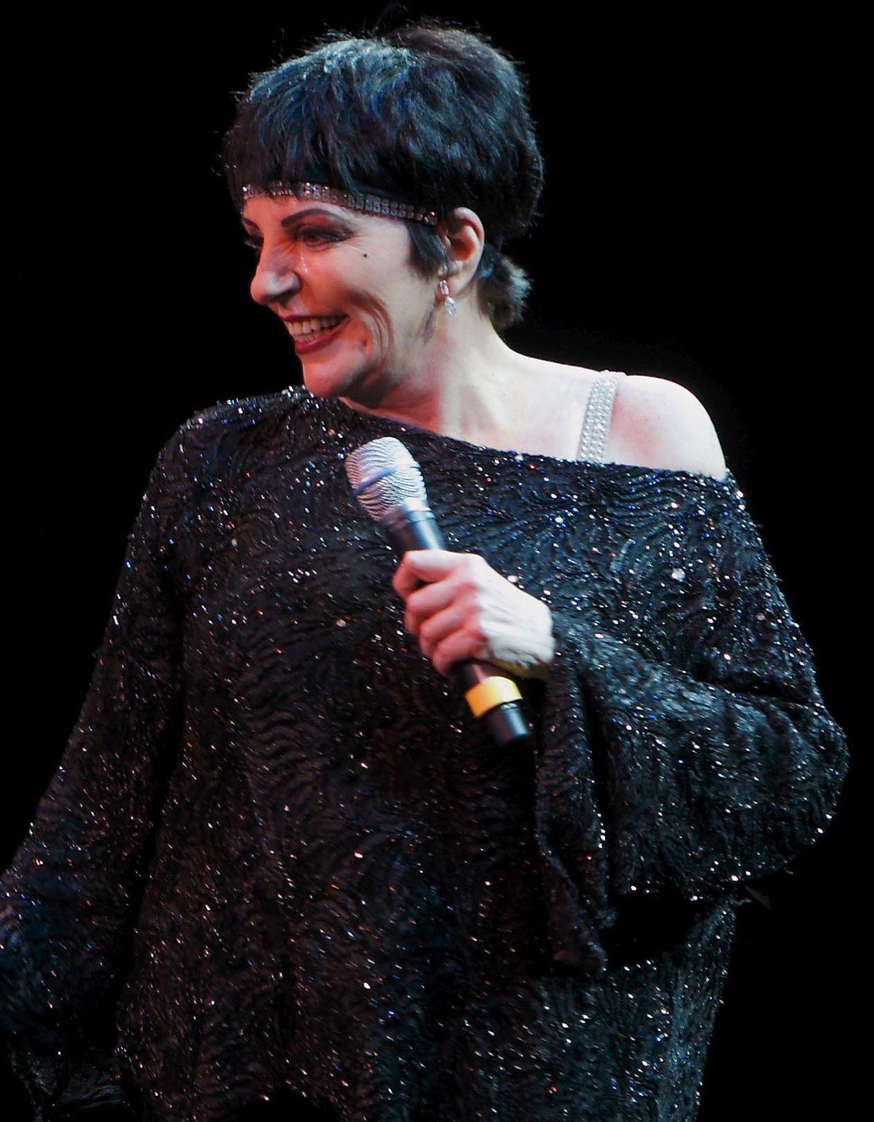 LIZA MINELLI Performing Live In Regensburg (USA ONLY)