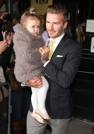 David & Victoria Beckham Lunch In NYC