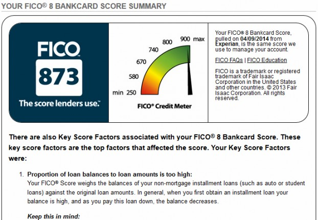 fico 8 bankcard score image
