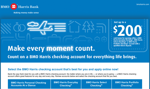 how to open a security deposit account bmo